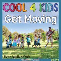 Get Moving CD Cool 4 Kids