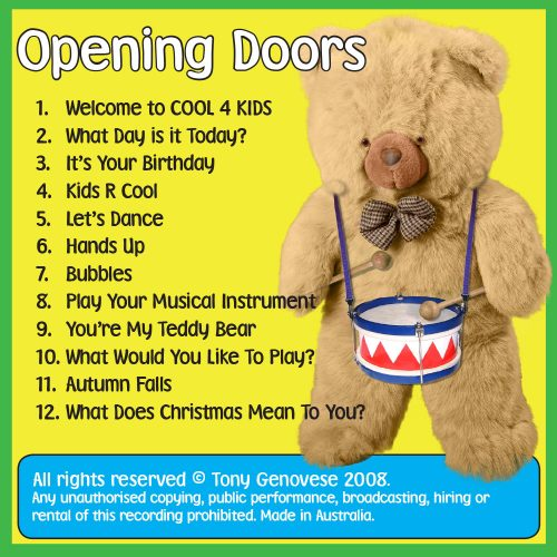 Opening Doors CD Cool 4 Kids