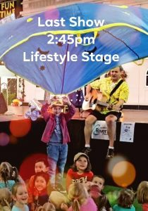 Parachute Play Ipswich Show