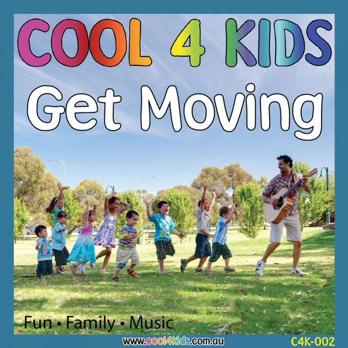 Get Moving CD Cool 4 Kids