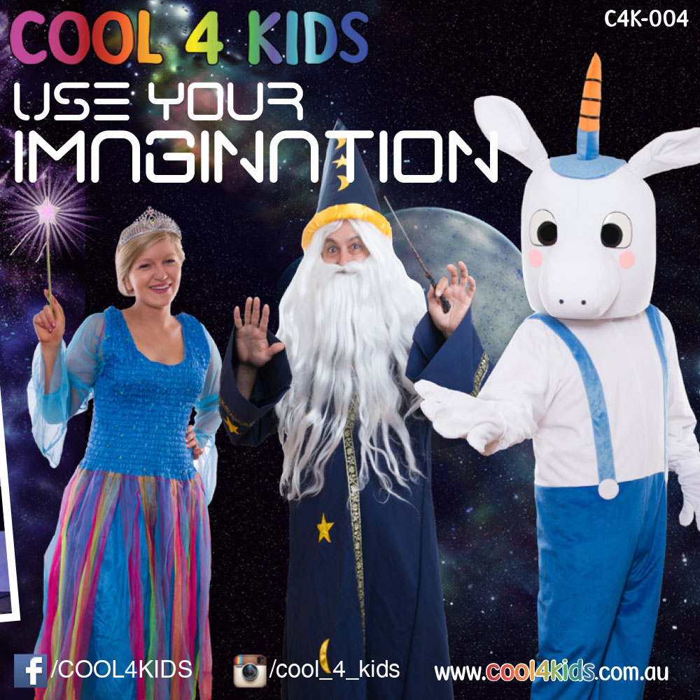 Use Your Imagination CD Cool 4 Kids